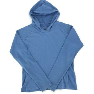 Patagonia Womens Blue Hoodie Light Weight Pullover
